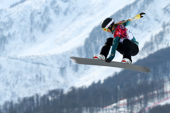 Torah Bright Pictures Snowboard Winter Olympics Day 9