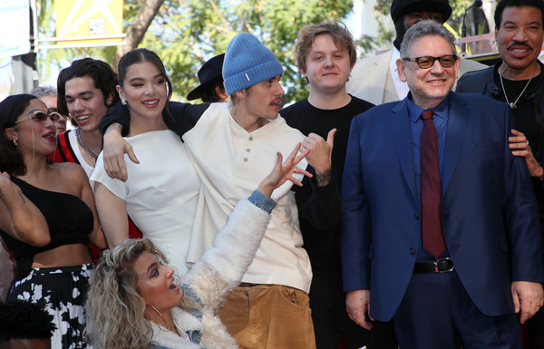 Sir Lucian Grainge Honored With A Star On The Hollywood Walk Of Fame