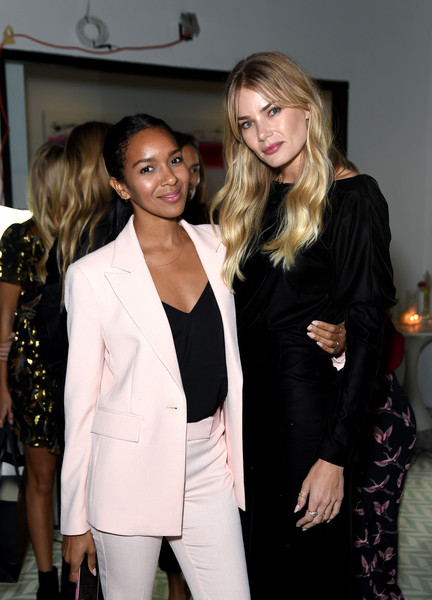 Box of Style By Rachel Zoe Female Founders Dinner [suit,fashion,outerwear,formal wear,event,blazer,blond,fashion design,tuxedo,long hair,rachel zoe female founders dinner,tori praver,lizzy mathis,box,style,box of style,l-r,the allbright west hollywood,west hollywood,california]