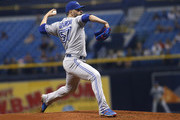 Pitcher Jaime Garcia #57 of the Toronto Blue Jays pitches during the second inning of a game against the Tampa Bay Rays on June 12, 2018 at Tropicana Field in St. Petersburg, Florida.