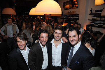 Tory Belleci Antica Pesa Williamsburg Grand Opening Party