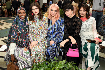 Tory Burch Halima Aden Tory Burch NYFW SS20 - Backstage And Front Row