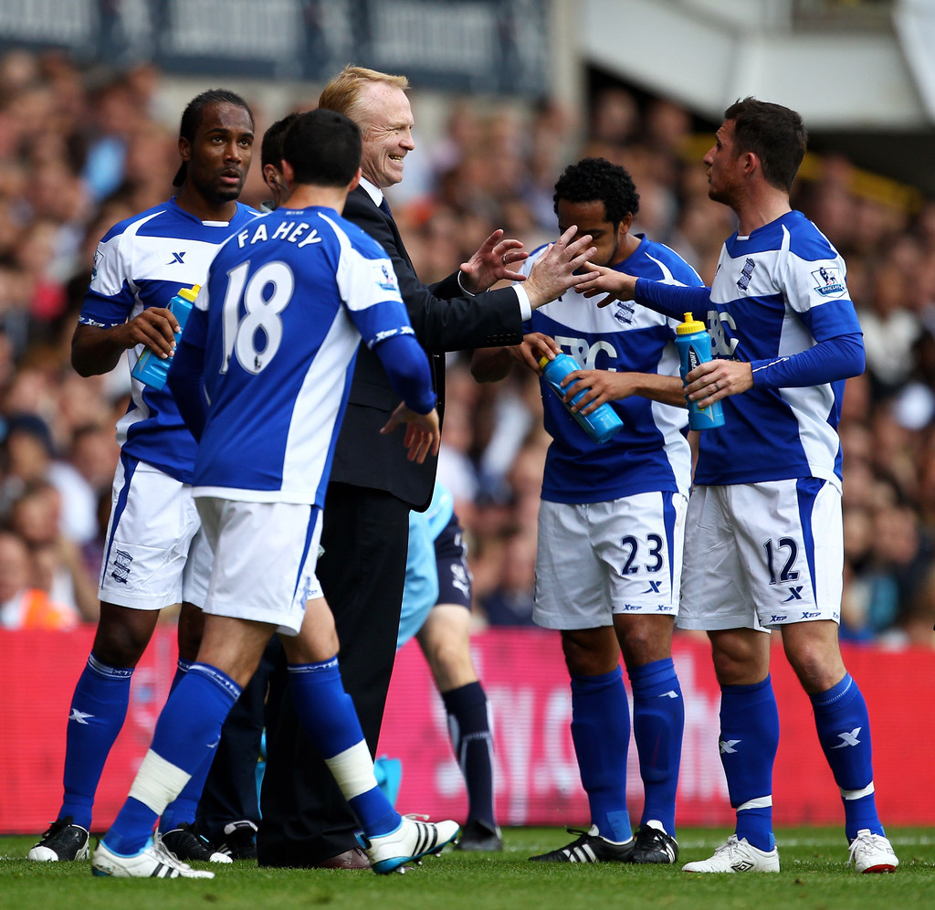 Tottenham Vs Ajax Now Tv: Alex McLeish In Tottenham Hotspur V Birmingham City
