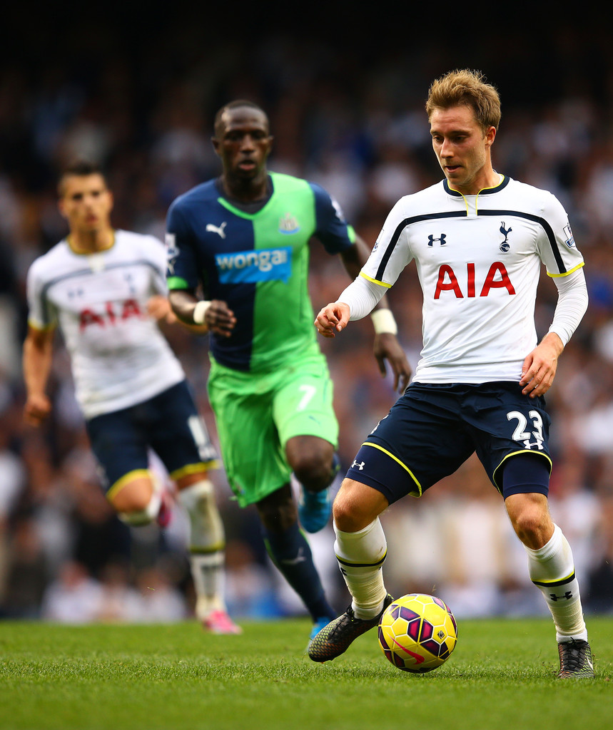 Tottenham Vs Ajax Now Tv: Christian Eriksen In Tottenham Hotspur V Newcastle United