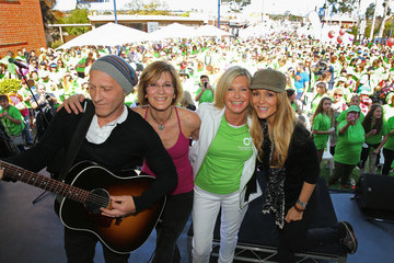 Tottie Goldsmith Olivia Newton-John Leads Wellness Walk In Melbourne