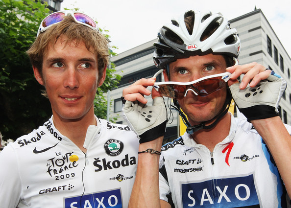 Frank Schleck in Tour de France 2009 Stage Sixteen