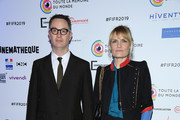 "Nicolas Winding Refn and Liv Corfixen attend the ""Toute La Memoire Du Monde"" Festival At La Cinematheque Francaise on March 13, 2019 in Paris, France."