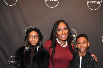 Towanda Braxton The Cast and Producers From Lifetime's Film 'Faith Under Fire: The Antoinette Tuff Story' Attend the Red Carpet Screening