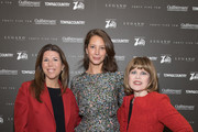 (L-R) Stellene Volandes, Christy Turlington Burns, and Nancy Brown attend Town & Country Third Annual Philanthropy Series: Dallas at Hotel Crescent Court on October 29, 2019 in Dallas, Texas.