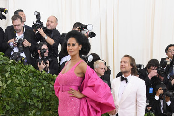 Tracee Ellis Ross Heavenly Bodies: Fashion & The Catholic Imagination Costume Institute Gala - Arrivals