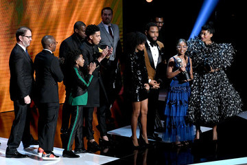 Tracee Ellis Ross Miles Brown 50th NAACP Image Awards - Show