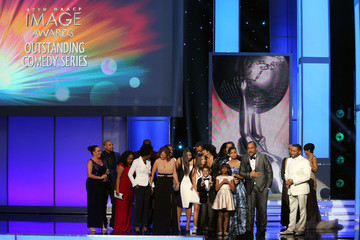 Tracee Ellis Ross Miles Brown 47th NAACP Image Awards Presented By TV One - Show