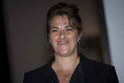Tracy Emin talks about the success of her 1998 piece 'My Bed' on display at Christie's on June 27, 2014 in London, England. This iconic work from the YBA moment is being offered at auction for the first time and is estimated to sell for between 800,000 - 1.2 million GBP.