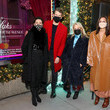 Tracy Margolies Wes Gordon Celebrates The Holidays At Saks Lights Up Fifth Avenue Ceremony
