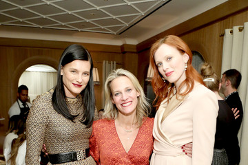 Tracy Margolies Tabitha Simmons 10 Year Anniversary Dinner At L'Avenue At Saks