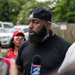 Trae The Truth George Floyd's Family Joins March To Honor Him In Houston