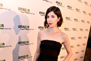 "Actress Carrie Brownstein attends the ""Transparent"" Cast and Crew Golden Globes Viewing Party at The London West Hollywood on January 11, 2015 in West Hollywood, California."