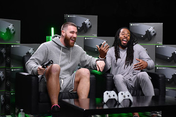 Travis Kelce Xbox Game Before the Game – Kelce vs Sherman