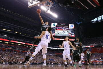 Travis Trice Tyus Jones NCAA Men's Final Four - Semifinals