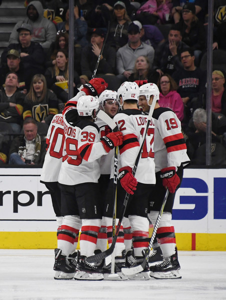 wholesale dealer df093 255f7 Travis Zajac Photos Photos - New Jersey Devils vs. Vegas ...