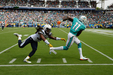 Tre Boston Miami Dolphins v Los Angeles Chargers
