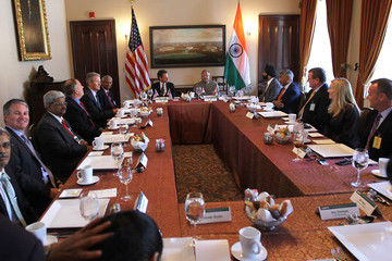 Greg Page Treasury Secretary Geithner Meets With Indian Finance Minister