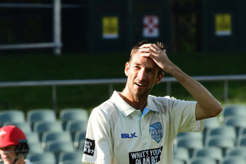 Trent Copeland SA v NSW - Sheffield Shield: Day 2