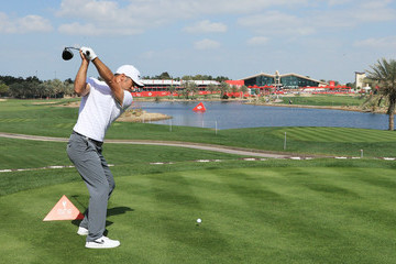Trevor Immelman Abu Dhabi HSBC Golf Championship - Day One
