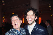 The Trevor Project founder and actor James Lecesne and actor Michael Urie attend Trevor NextGen Spring Fling 2016 on April 15, 2016 in New York City.