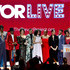 Billy Porter Photos - (L-R) Steven Canals, Dominique Jackson, Billy Porter, Hailie Sahar, Ryan Jamaal Swain, Indya Moore, Janet Mock, Mj Rodriguez, Dyllon Burnside, Charlayne Woodard, James Van Der Beek, Our Lady J, and Ryan Murphy of POSE are honored onstage during the Trevor Project's TrevorLIVE LA 2018 at The Beverly Hilton Hotel on December 3, 2018 in Beverly Hills, California. - The Trevor Project's TrevorLIVE LA 2018 - Show & After Party