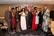 (L-R) POSE honorees James Van Der Beek, Charlayne Woodard, Hailie Sahar, Our Lady J, Indya Moore, Dominique Jackson, Ryan Murphy, Janet Mock, Billy Porter, Steven Canals, Dyllon Burnside, Mj Rodriguez, and Ryan Jamaal Swain attend the Trevor Project's TrevorLIVE LA 2018 at The Beverly Hilton Hotel on December 3, 2018 in Beverly Hills, California.
