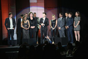 The Cast of Glee perform onstage at 'TrevorLIVE LA' honoring Jane Lynch and Toyota for the Trevor Project at Hollywood Palladium on December 8, 2013 in Hollywood, California.