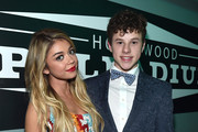 Actors Sarah Hyland (L) and Nolan Gould attend 'TrevorLIVE LA' Honoring Robert Greenblatt, Yahoo and Skylar Kergil for The Trevor Project presented by Wells Fargo at Hollywood Palladium on December 7, 2014 in Los Angeles, California.