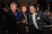 Sir Ian McKellen, Susan Sarandon and James Lecesne attend the TrevorLIVE New York honoring Sir Ian McKellen, Representative Ryan Fecteau and Johnson & Johnson for the Trevor Project presented by Wells Fargo and Kevin Potter on June 15, 2015 in New York City.
