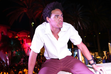 Trey Smith Haute Living And Hublot Celebrate The Art Of Fusion With Hebru Brantley On Star Island