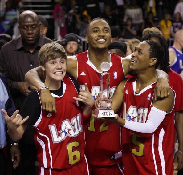 Romeo Miller And Justin Bieber Trey Songz Just...