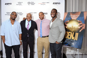 Jeff Wilson Chike Ozah Tribeca/ESPN Sports Film Festival After-Party For BENJI, Hosted By Time Warner Cable - 4/20/12