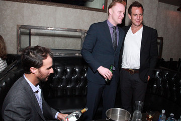 Ben Silverman Morgan Spurlock Tribeca Film Festival 2012 After-Party For Mansome At 121 Fulton Street - 4/21/12