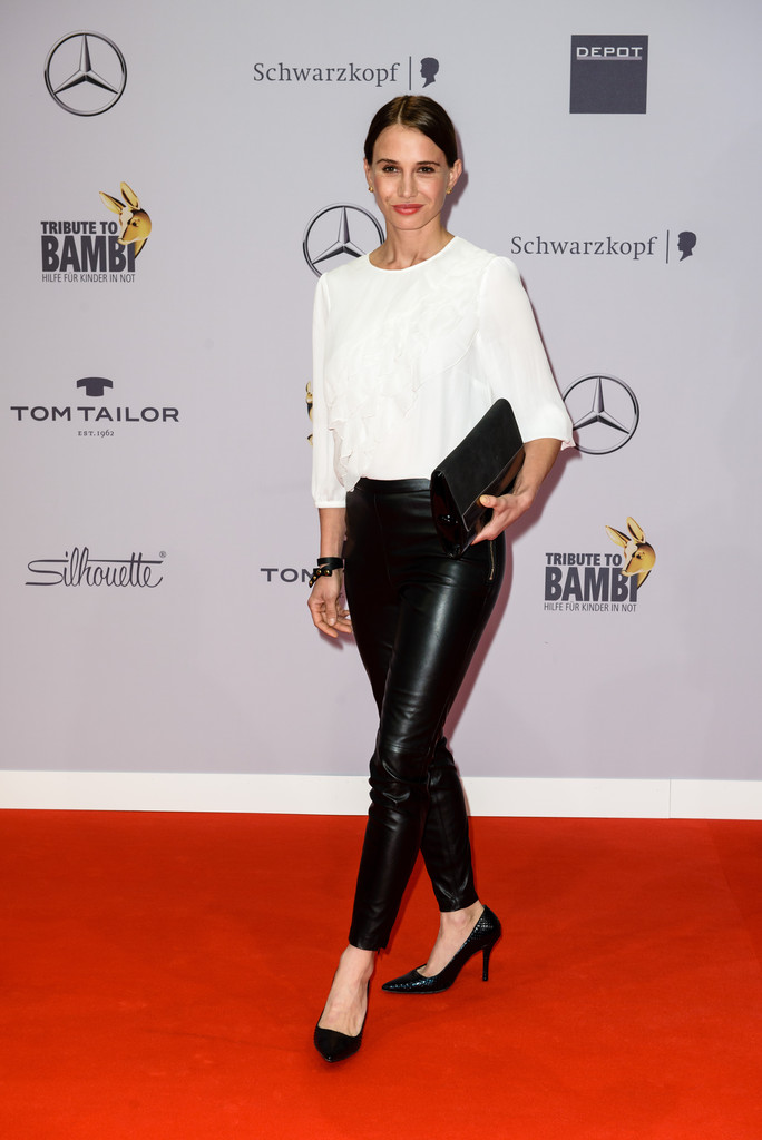 nadeshda brennicke photos photos arrivals at the tribute to bambi zimbio. Black Bedroom Furniture Sets. Home Design Ideas