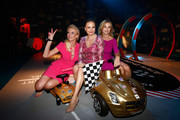 (L-R) Eva Habermann, Regina Halmich and Tina Ruland attend the Tribute to Bambi Party at Station on October 17, 2013 in Berlin, Germany.