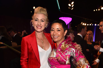 Trish Summerville Ane Crabtree 17th Costume Designers Guild Awards With Presenting Sponsor Lacoste - Backstage And Audience