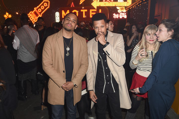Tristan Wilds Coach 75th Anniversary Party