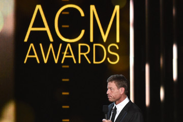 Troy Aikman 50th Academy Of Country Music Awards - Show