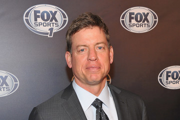 Troy Aikman 2013 Fox Sports Media Group Upfront After Party