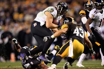 Troy Polamalu Wild Card Playoffs - Baltimore Ravens v Pittsburgh Steelers