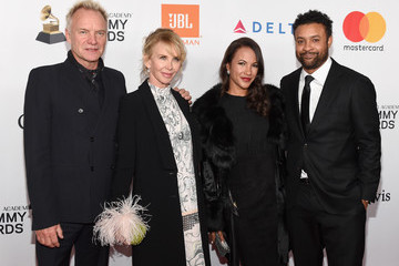 Trudie Styler Grammy Salute To Industry Icons Honoring Jay-Z - Arrivals