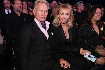 Trudie Styler 60th Annual GRAMMY Awards - Roaming Show