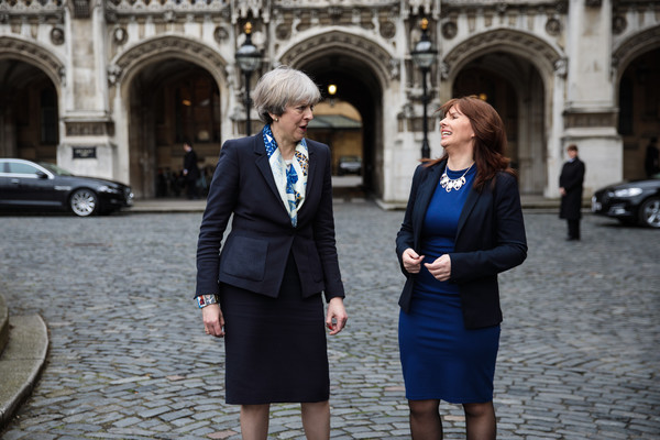Theresa May Welcomes The New Copeland MP To Parliament