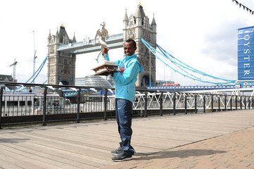 Tsegaye Kebede London Marathon Winners Photo Call 2