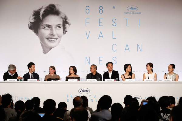 'Nie Yinniang' Press Conference - The 68th Annual Cannes Film Festival